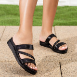 Papuci dama negri Qalia