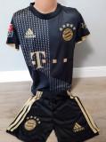 Echipament fotbal pt copii F.C. Bayern Munchen Lewandowski negru nou
