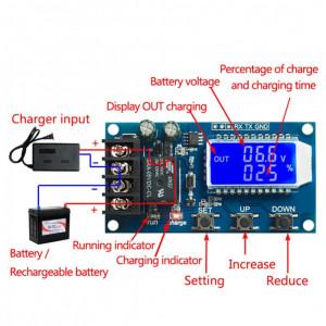 Controler incarcare baterie cu temporizare 6-60V