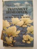 Tratament homeopatic, indreptar de simptome si semne, maria chirila, pavel chir