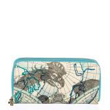 Cumpara ieftin Portofel dama Maps Bleu
