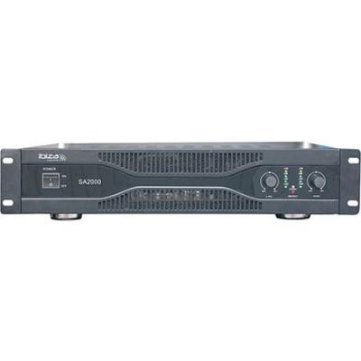 Amplificator Ibiza, XLR, RCA, jack 6.3 mm, 2 x 1000 W foto