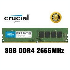 Memorie ram Crucial 8GB DDR4 2666MHz CL19 1.2v Single Ranked
