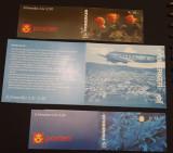 Lot de trei carnete cu timbre Norvegia -  MNH - 1996