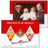 """MONACO 2017 – set monetarie """"1cent – 2 euro"""" BU / folder sigilat, Europa"""