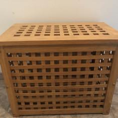 Cutie,lada pentru depozitare,din lemn ,cu capac
