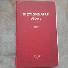 Dictionnaire Vidal - 1987