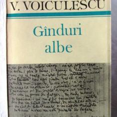 """""""GINDURI [GÂNDURI] ALBE"""", V. Voiculescu, 1986"""