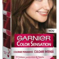 Vopsea de par permanenta cu amoniac Color Sensation cu pigmenti intensi 6.0 Blond Inchis Pretios, 110 ml