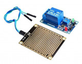 Modul releu 12V, senzor de ploaie cu 1 canal Arduino / Relay rain sensor (RE389)