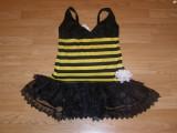 costum carnaval serbare albina pentru adulti marime S