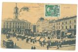 5164 - Cernauti, CERNOWICZ, Bukowina, Market - old postcard - used - 1909 - TCV