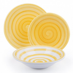 Set de masa 18 piese Old Italy Yellow