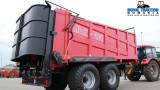 Metal-Fach N272/2 masina de imprastiat gunoi de grajd