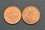 Irlanda 2 pence 1996, Europa