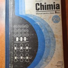 manual chimie pentru clasa a 8-a din anul 1975