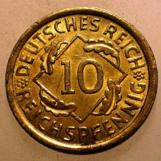 1.878 GERMANIA WEIMAR 10 PFENNIG 1935 A XF