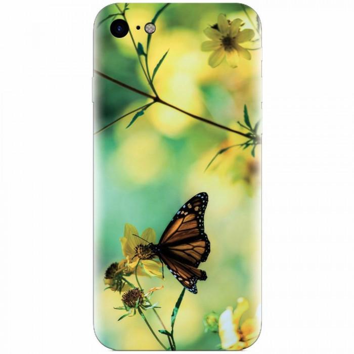 Husa silicon pentru Apple Iphone 5c, Butterfly