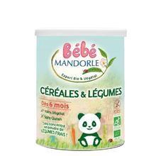 Cereale Bio cu Legume pentru Bebelusi La Mandorle 400gr Cod: 3760030723436 foto