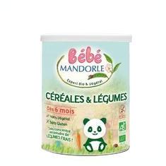 Cereale Bio cu Legume pentru Bebelusi La Mandorle 400gr Cod: 3760030723436