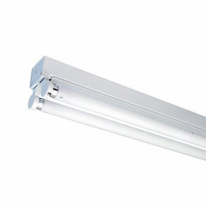 Plafoniera, 2 x 60 cm, aluminiu