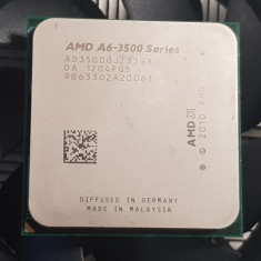 Procesor AMD A6 X3 3500, 2100 MHz, 3MB, socket FM1, Box - poze reale