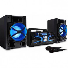 Minisistem Akai KS-5600 cu BT, CD, USB, Radio FM, Microfon, Karaoke