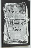 Testament Liric - Mircea Micu