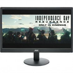 "Monitor 18.5"" AOC E970SWN, HD, TN , 16:9, WLED, 5 ms, 200 cd/m2, 90/65, 20M:1, VGA, VESA, , Black"