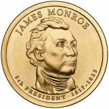 !!! RARR :  SUA -  1  DOLAR  2008 , JAMES MONROE  - KM 426  -  UNC