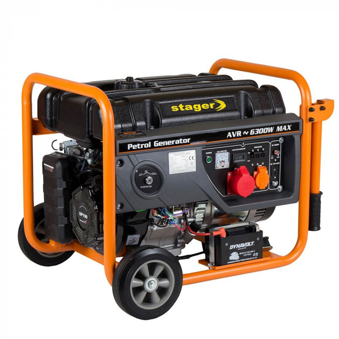 Generator curent electric STAGER GG 7300 3EW – 6.3 kW