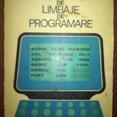 Indrumator de limbaje de programare- M. Jitaru, C. Macarie