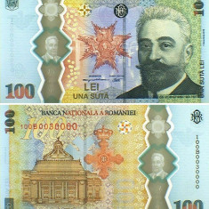 Bancnota 100 de lei cu I.C. Bratianu