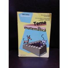 TEME DE MATEMATICA CLASA A V-A - PETRUS ALEXANDREESCU
