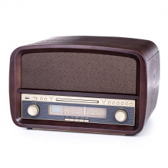 Gramofon Player Camry Retro cu Radio, Pick-Up, CD-Player, USB, Functie de Inregistrare si Telecomanda
