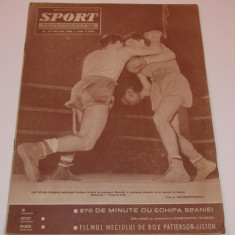 Revista SPORT-nr.19/10.1962