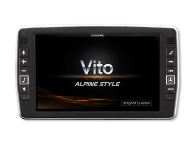 "GPS ALPINE X902D-V447 Display tactil 9"" Bluetooth Harta Europei foto"