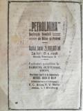 """reclama """"Petrolmina"""", Mine si petrol, 1922,16 x 23 cm, Bordeni, Bustenari, Gropi"""