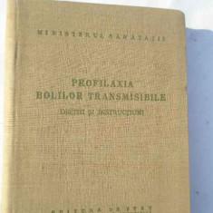 Profilaxia Bolilor Transmisibile Decizii Si Instructiuni - Colectiv ,268375