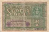 GERMANIA 50 marci 1919 VF-!!!