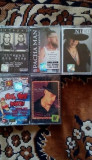 Vand albume in original cu diversi artisti, Casete audio