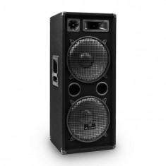 Malone PW-2222 DJ PA 3-Way Difuzor 2 x 30 cm 1000 W