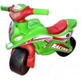 Motocicleta de Impins MyKids Racing Fun - Verde/Rosu