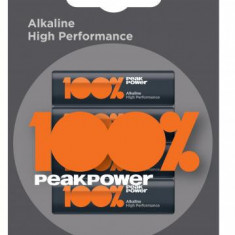 Baterie alcalina Peakpower AA (R6) 4 buc blister
