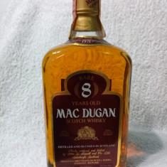 MAC DUGAN SCOTCH WHISKY  1971