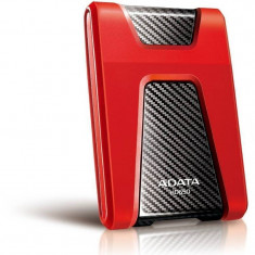 Hard disk extern ADATA Durable HD650 1TB 2.5 inch USB 3.0 Red