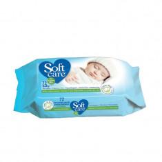 Servetele umede pentru Bebelusi Soft Care 72buc/set