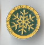 Insigna SCOALA ROMANA DE SCHI