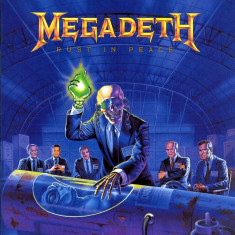 Megadeth Rust In Peace remastered (cd)