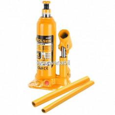 Cric hidraulic tip butelie 10 tone mediu Industrial 65410